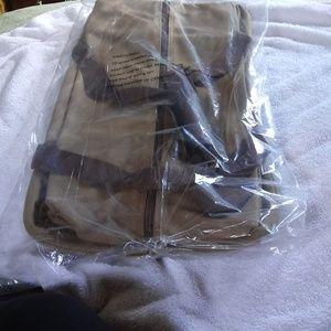 Canvas unisex duffelbag NWT